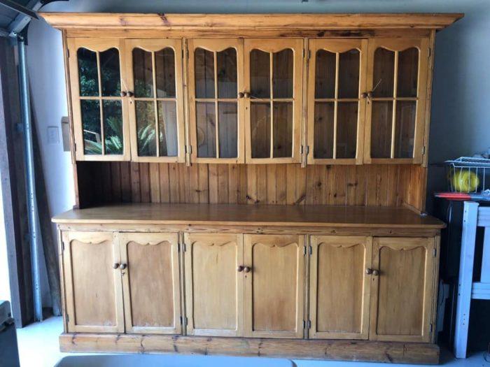 Antique Cape Dutch Yellowwood Cabinet for sale